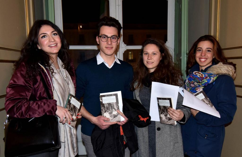 da sx : Daria Luppino, Alessandro Rajola, Ramona Vicchitto, Grazia Maria Cambria