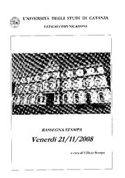21 Novembre 2008