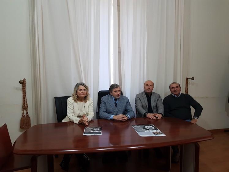 Da sx Sarah Zappulla Muscarà, Alessandro Cappellani, Valerio Caltagirone, Giampiero Panvini